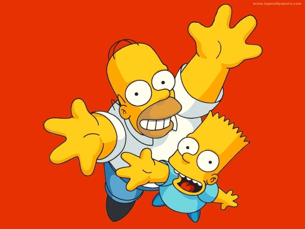 Красивые картинки Симпсоны на рабочий стол005
