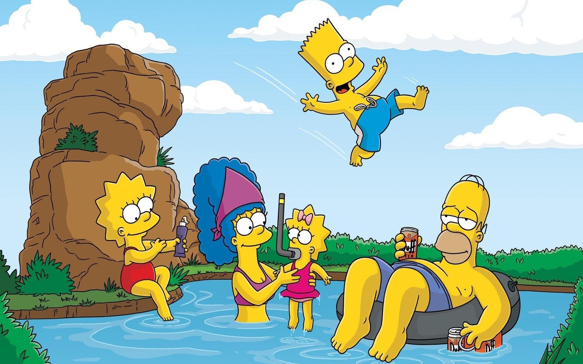 Красивые картинки Симпсоны на рабочий стол010