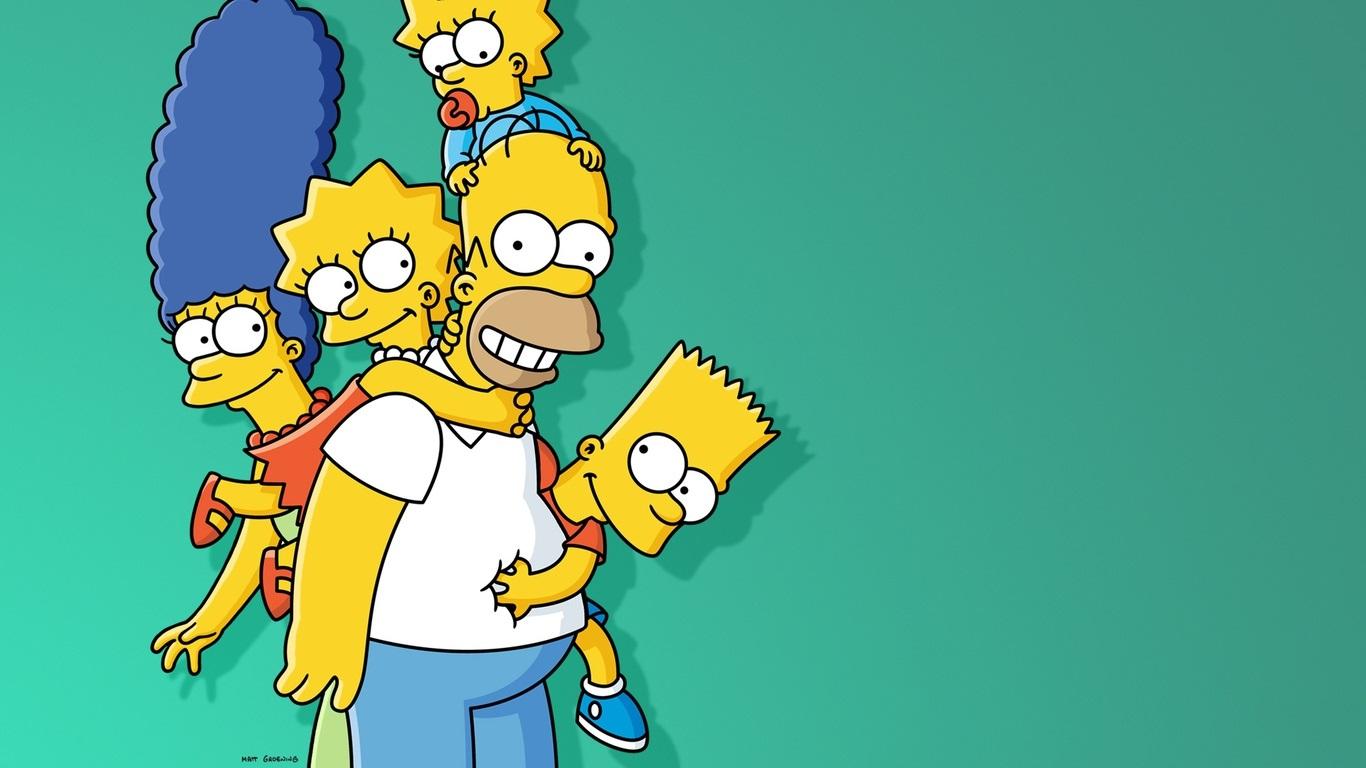 Красивые картинки Симпсоны на рабочий стол012