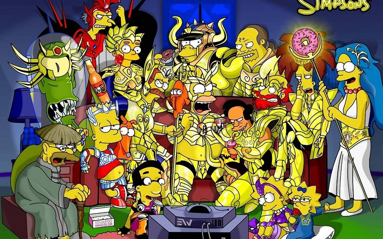 Красивые картинки Симпсоны на рабочий стол015