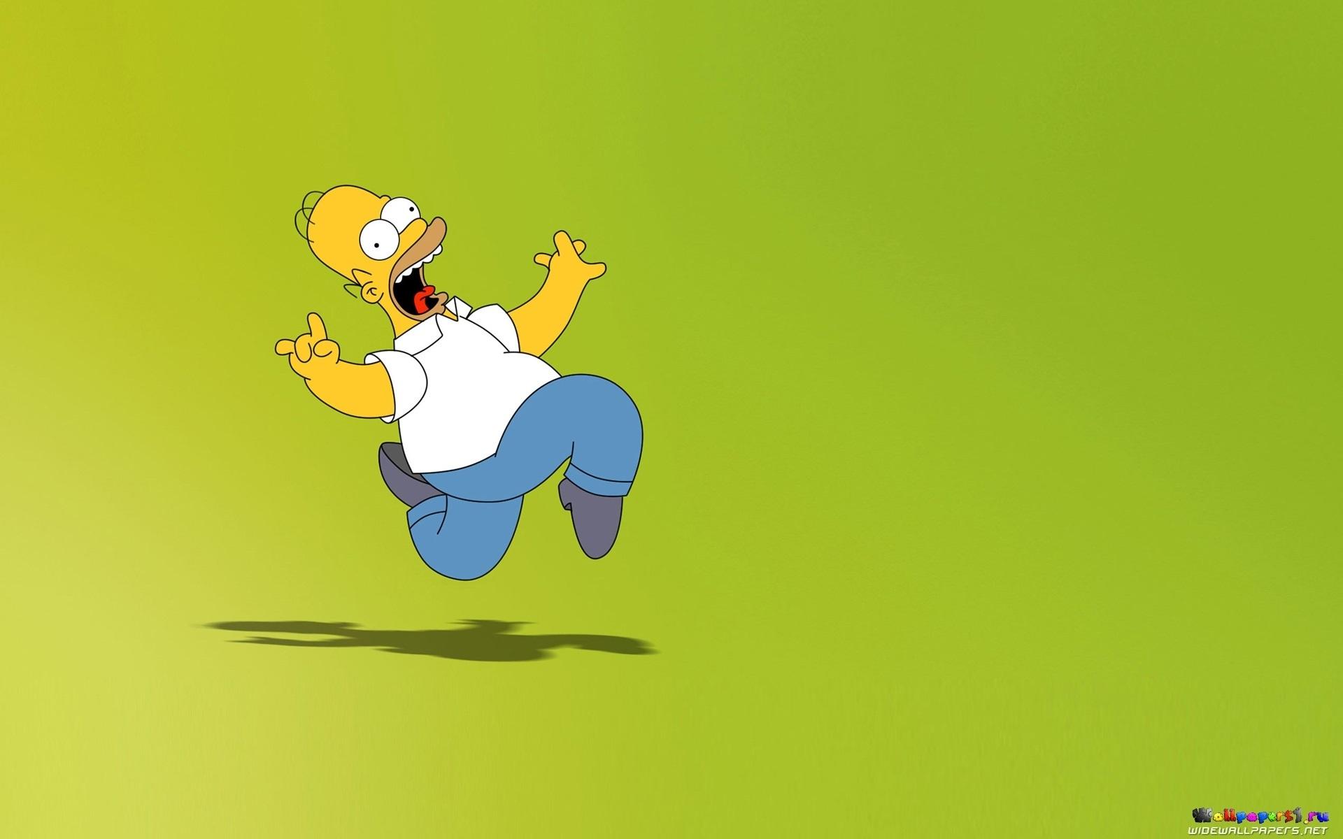 Красивые картинки Симпсоны на рабочий стол017
