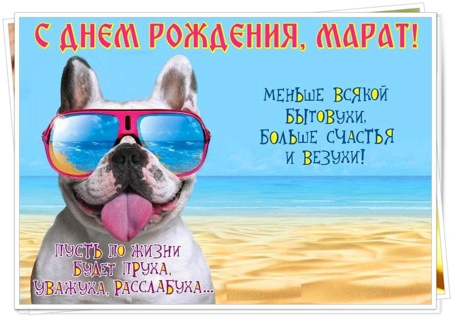 С днем рождения картинки подруге смешные с морем, открытки день рождения
