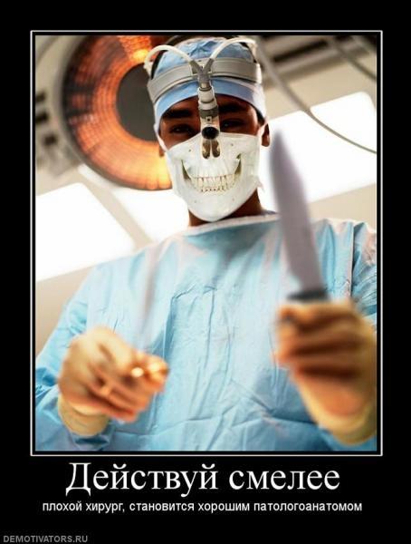 С днем хирурга картинки прикольные