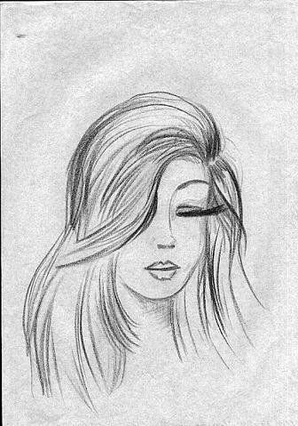 Легкие рисунки для срисовки карандашом009