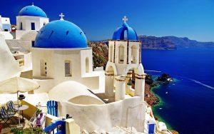 Обои Греция для рабочего стола014