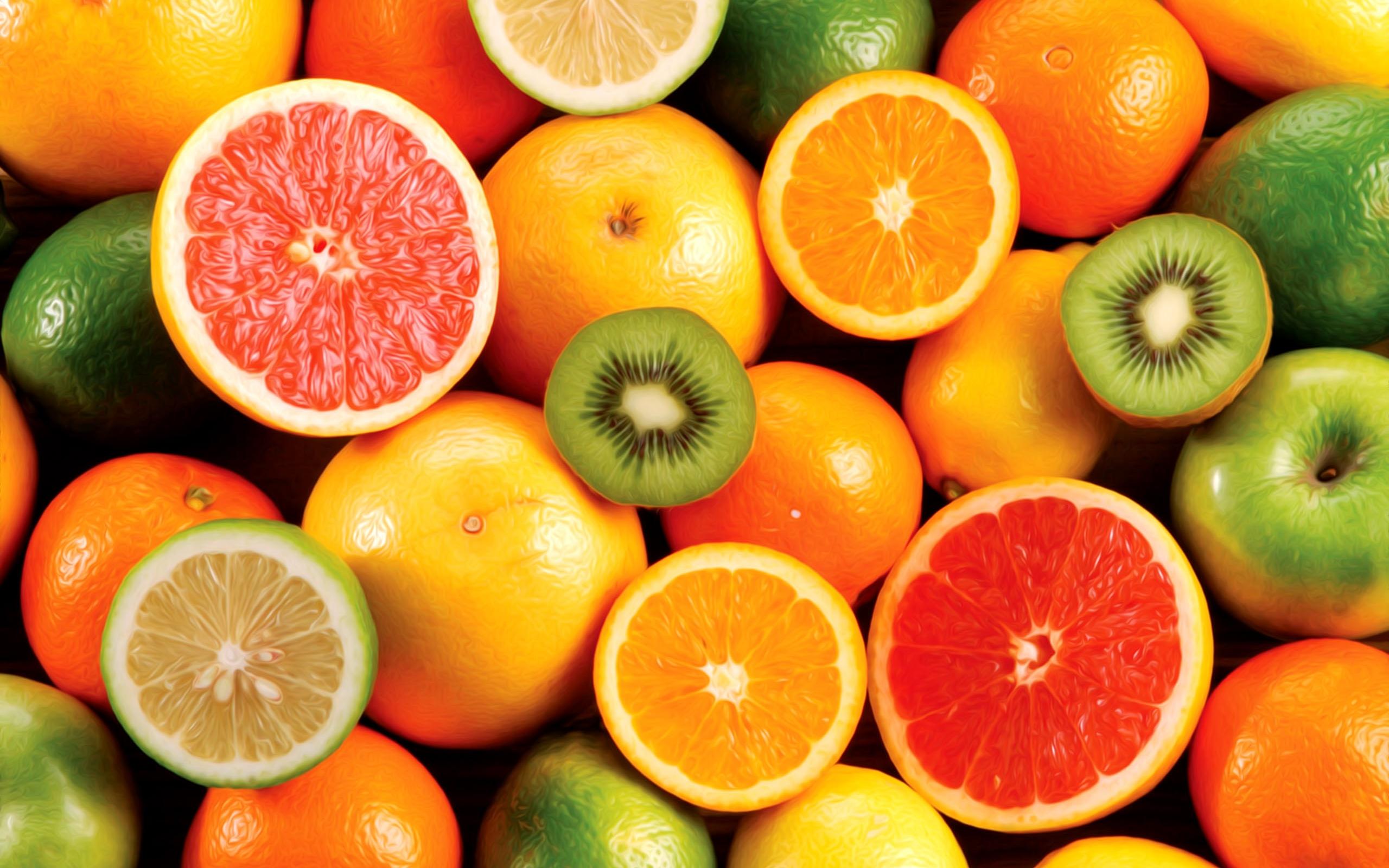 Обои для рабочего стола фрукты001