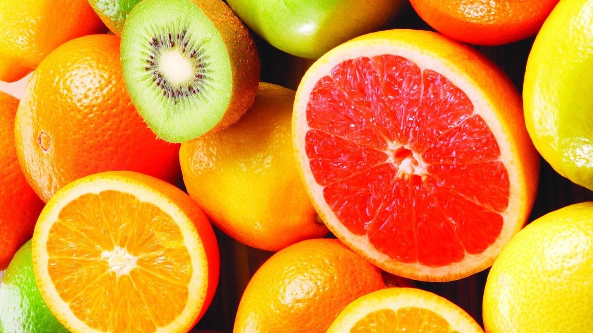 Обои для рабочего стола фрукты002