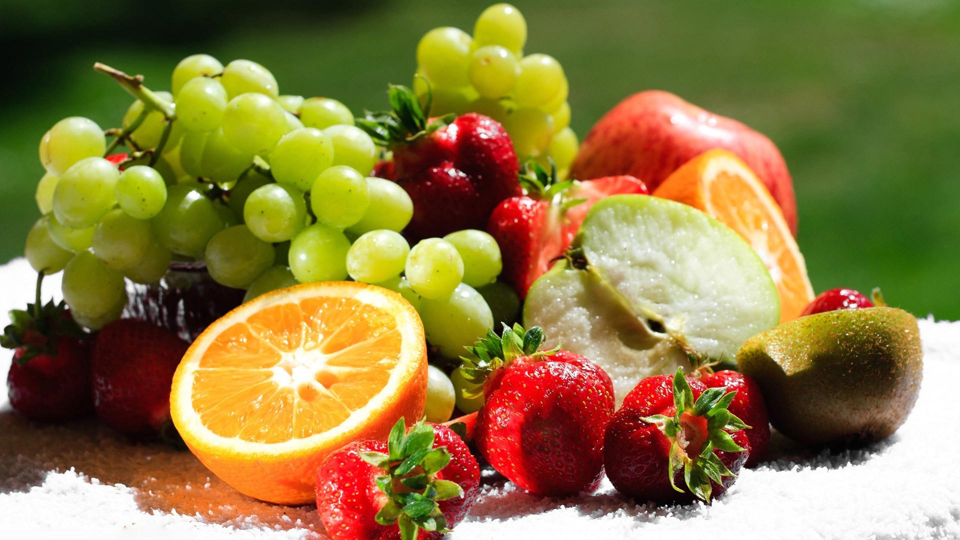 Обои для рабочего стола фрукты003