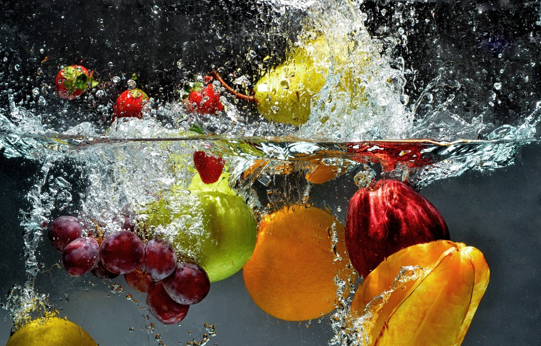 Обои для рабочего стола фрукты011