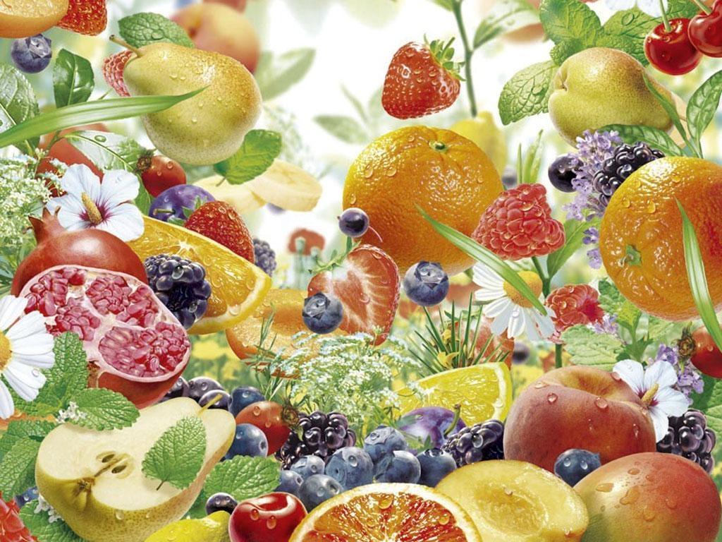 Обои для рабочего стола фрукты012