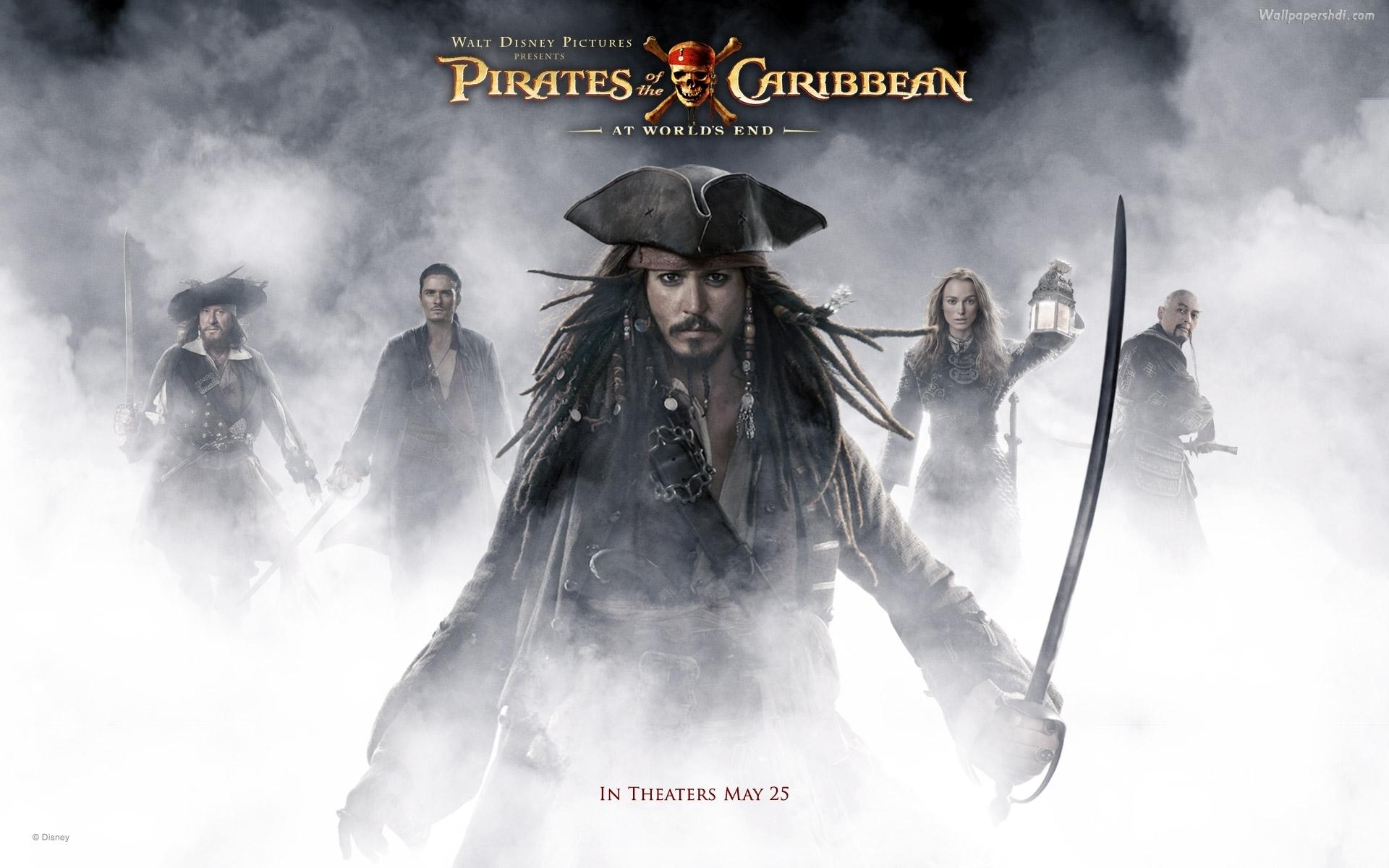 Обои пираты карибского моря на рабочий стол009