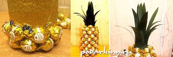 Поделки из ананаса фото   красивые020