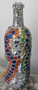 Поделки из стеклянных камушек   фото017