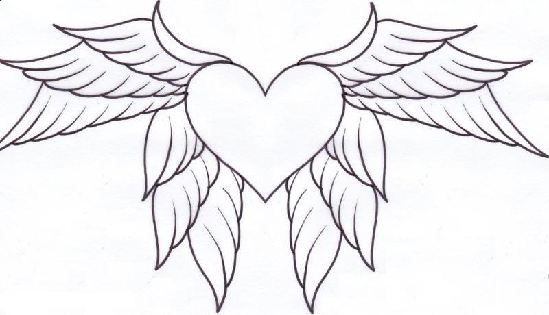 Простые рисунки для срисовки карандашом004