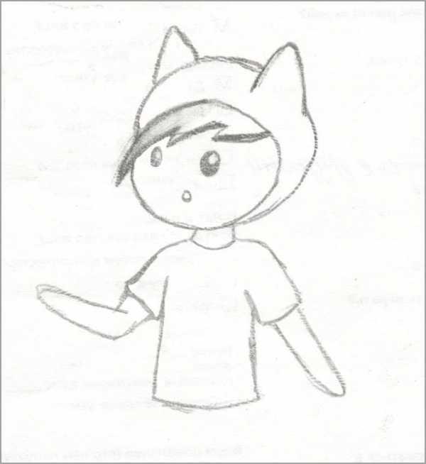 Простые рисунки для срисовки карандашом010