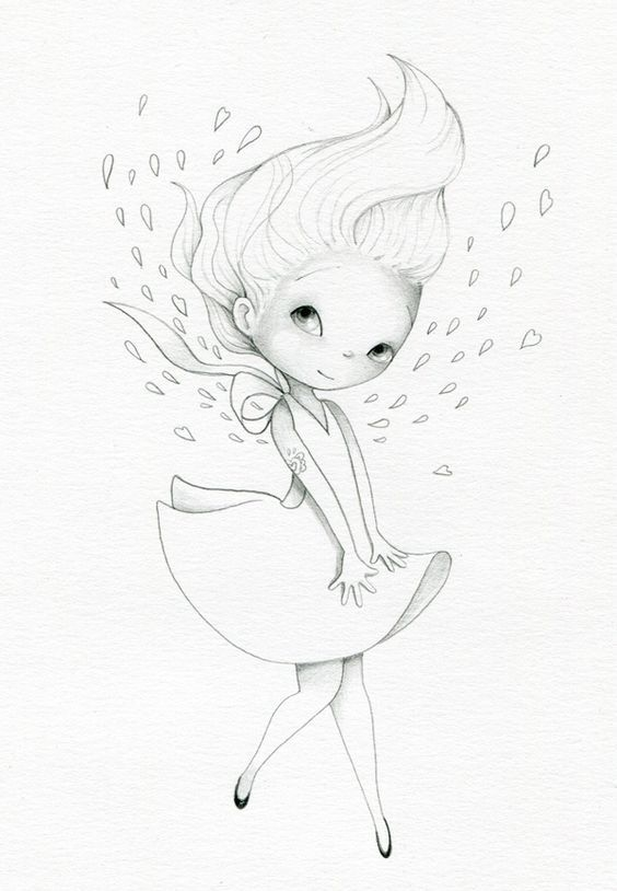 Простые рисунки для срисовки карандашом012