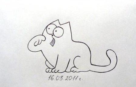 Простые рисунки для срисовки карандашом015