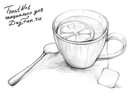 Простые рисунки для срисовки карандашом017
