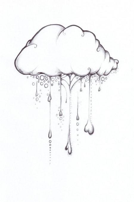 Простые рисунки для срисовки карандашом019