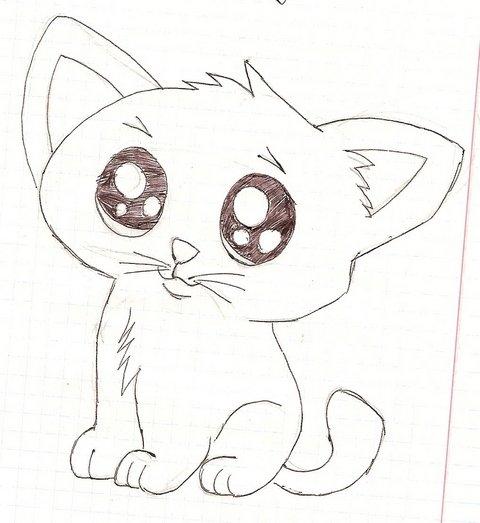 Простые рисунки для срисовки карандашом023