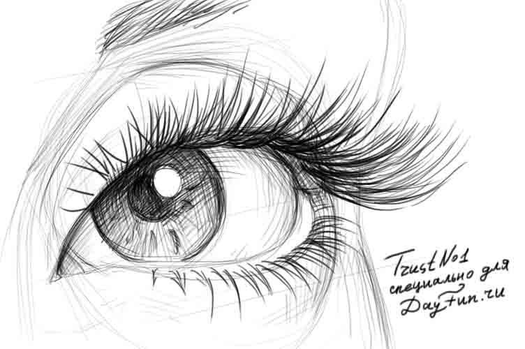 Рисунки для срисовки карандашом006