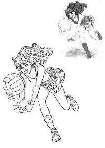Рисунки карандашом аниме волейбол   подборка018