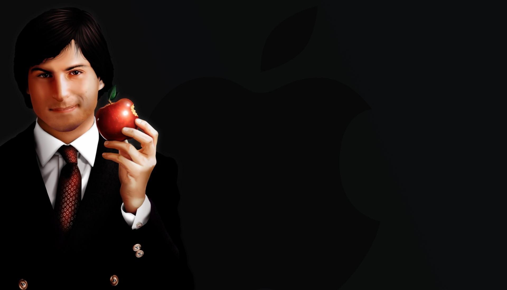 стив джобс картинка с яблоком нас купить