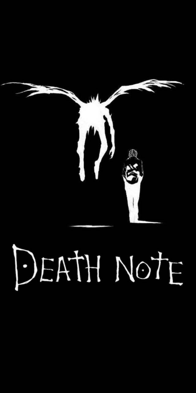 Тетрадь смерти обои на телефон007
