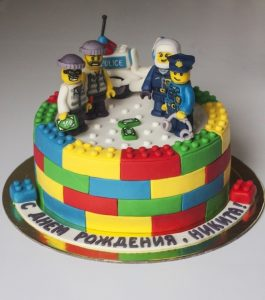 Торт лего без мастики фото   картинки017