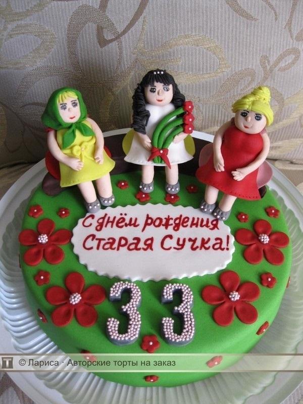 Поздравление подруге в день рождения 33 года