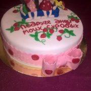 Торт на заказ подруге на день рождения   фото020