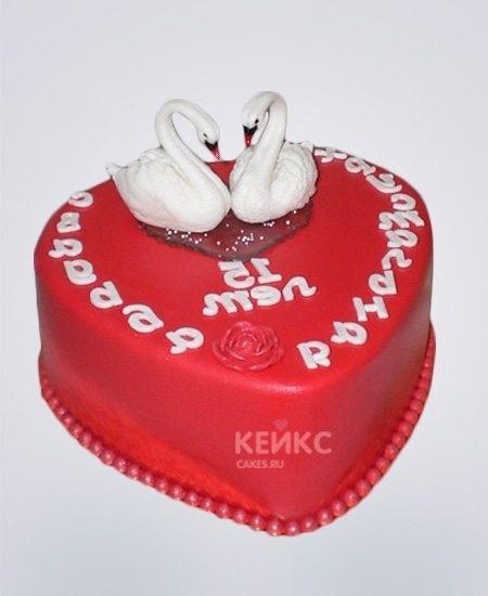 Торт на 15 годовщину свадьбы   красивый020
