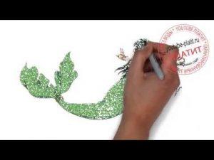 Туториал русалки   красивые019