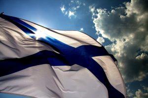 Флаг Андреевский на красном фоне   фото014