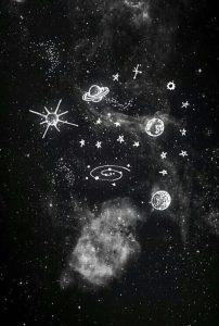 Фон космос черный   красивые фото019