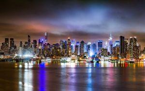 Фото Ночной мегаполис   подборка картинок022