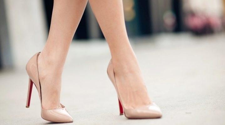 Фото туфли на шпильке черные   красивые004