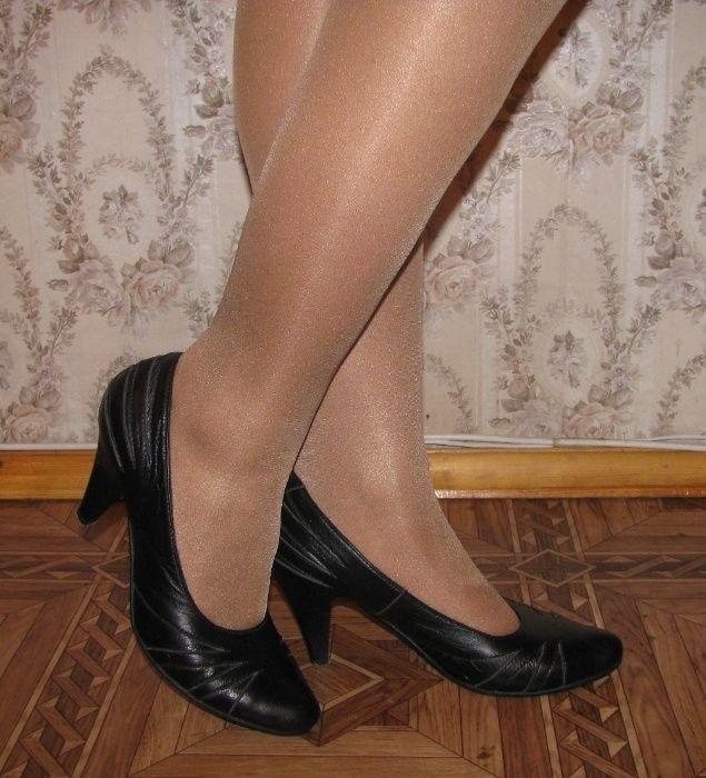 Фото туфли на шпильке черные   красивые009