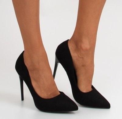 Фото туфли на шпильке черные   красивые017