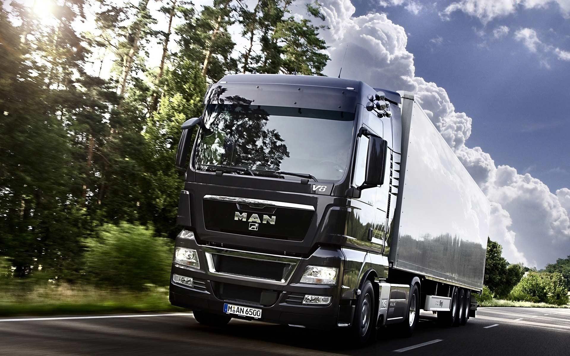 Картинки грузовиков ман на рабочий стол