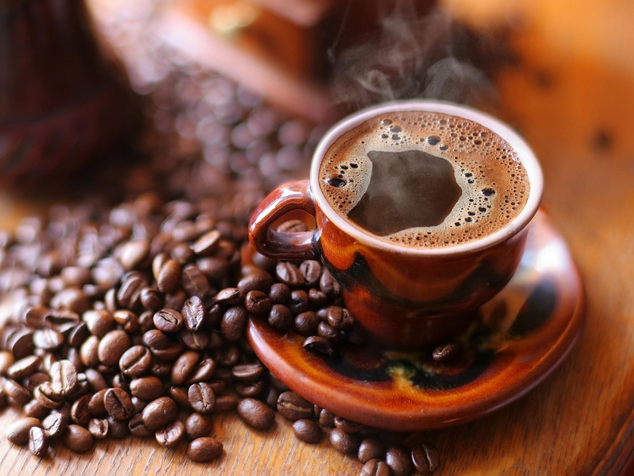 Чашка кофе обои006