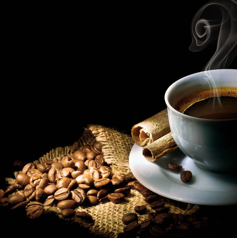 Чашка кофе обои009