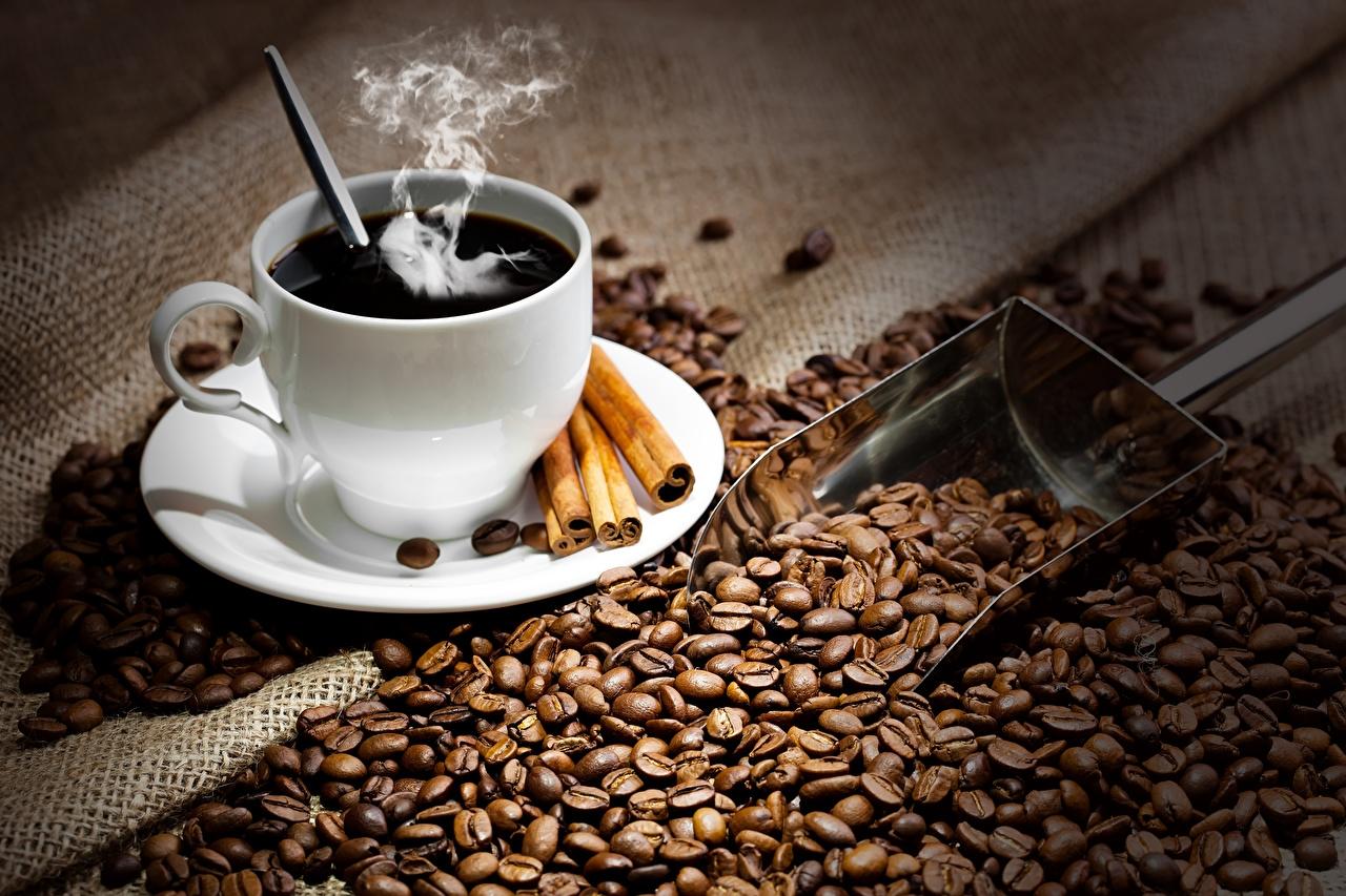 Чашка кофе обои012