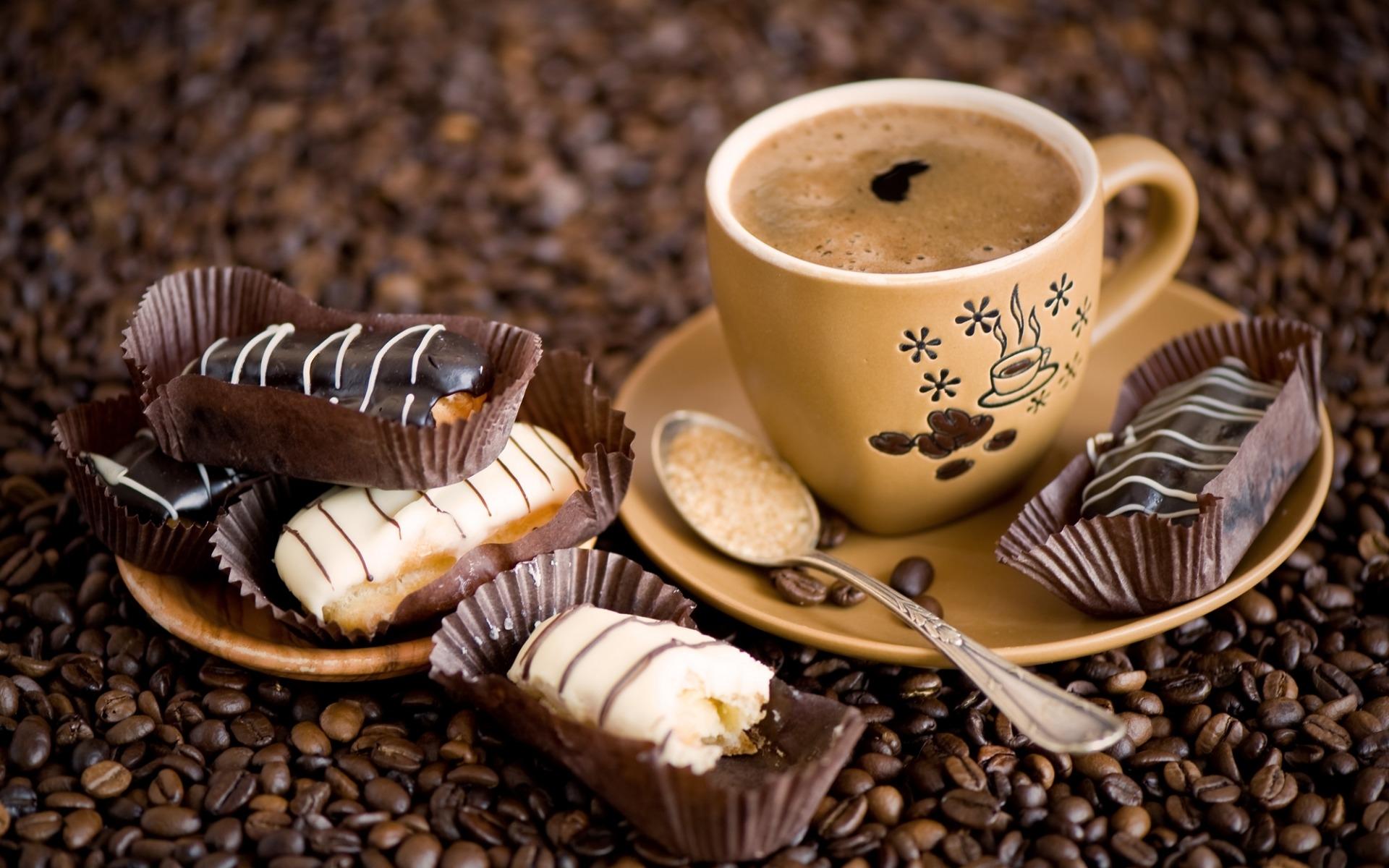 Чашка кофе обои013