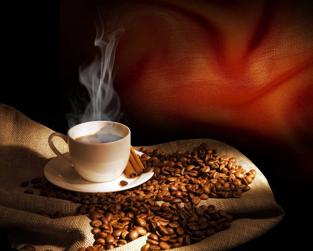 Чашка кофе обои014