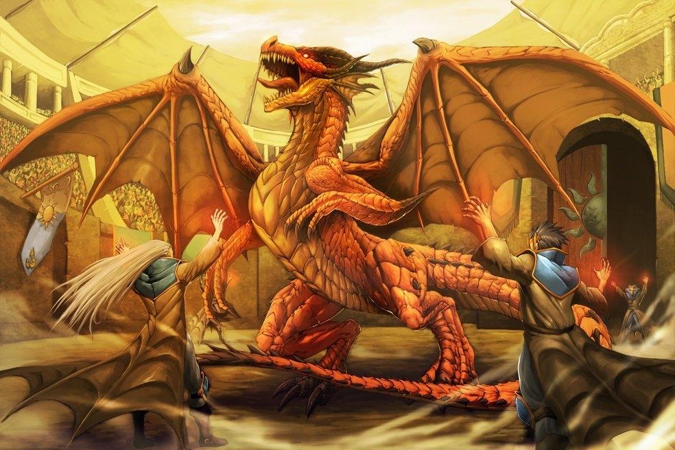 другу картинки с драконами окончания