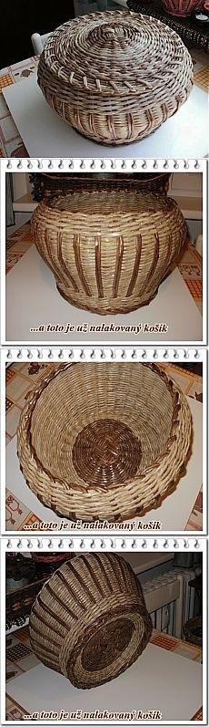 Чешский сайт плетение из газет   подборка016