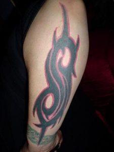 Slipknot татуировка    фото016