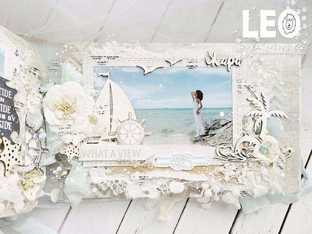 Альбом скрап морской   скачать фото (11)