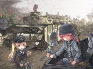 Арты аниме война014